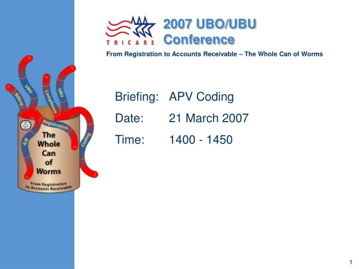 briefing apv coding date 21 march 2007 time 1400 1450 n.