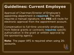 guidelines current employee19