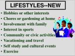 lifestyles new
