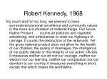 robert kennedy 1968