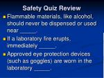 safety quiz review2