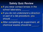 safety quiz review3