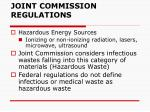 joint commission regulations
