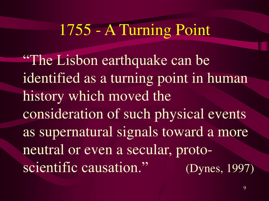 1755 - A Turning Point