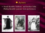 l actors