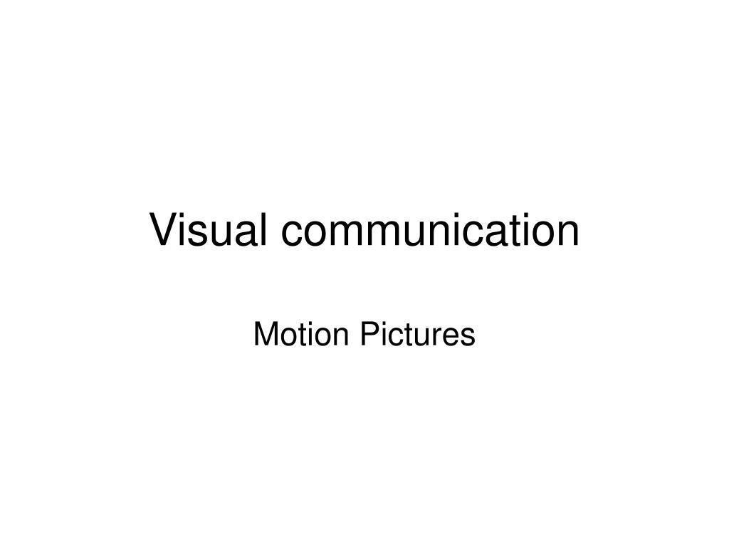 visual communication l.