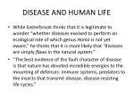 disease and human life