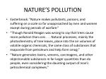 nature s pollution