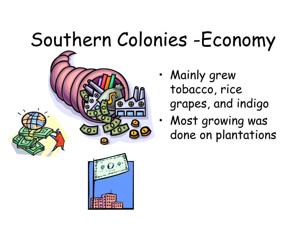 Southern Colonies -Economy