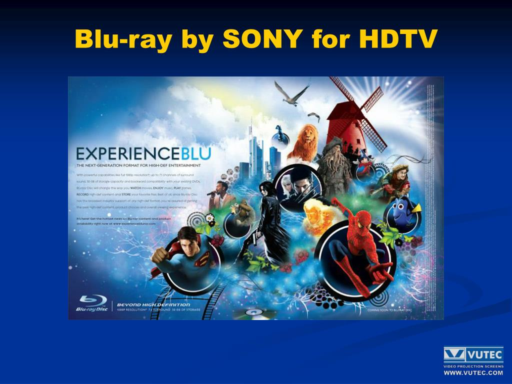 Blu-ray by SONY for HDTV