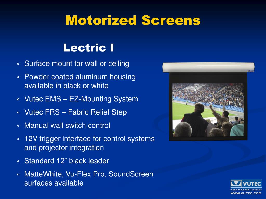 Motorized Screens