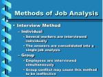 methods of job analysis13