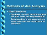 methods of job analysis14