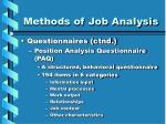 methods of job analysis15