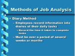 methods of job analysis16