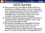 gcd survey29