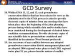 gcd survey30