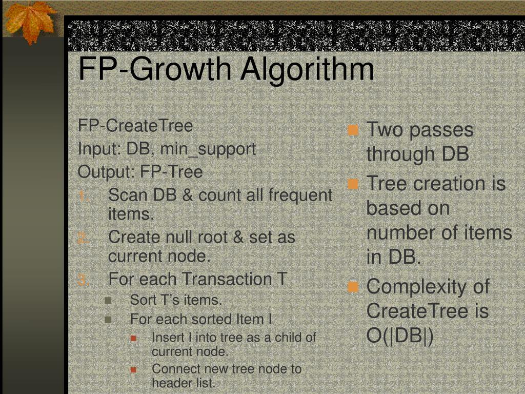 FP-CreateTree