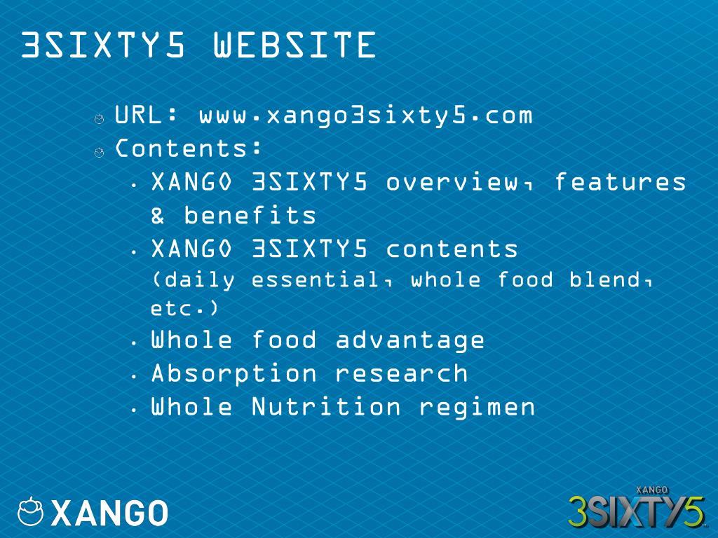 3SIXTY5 WEBSITE