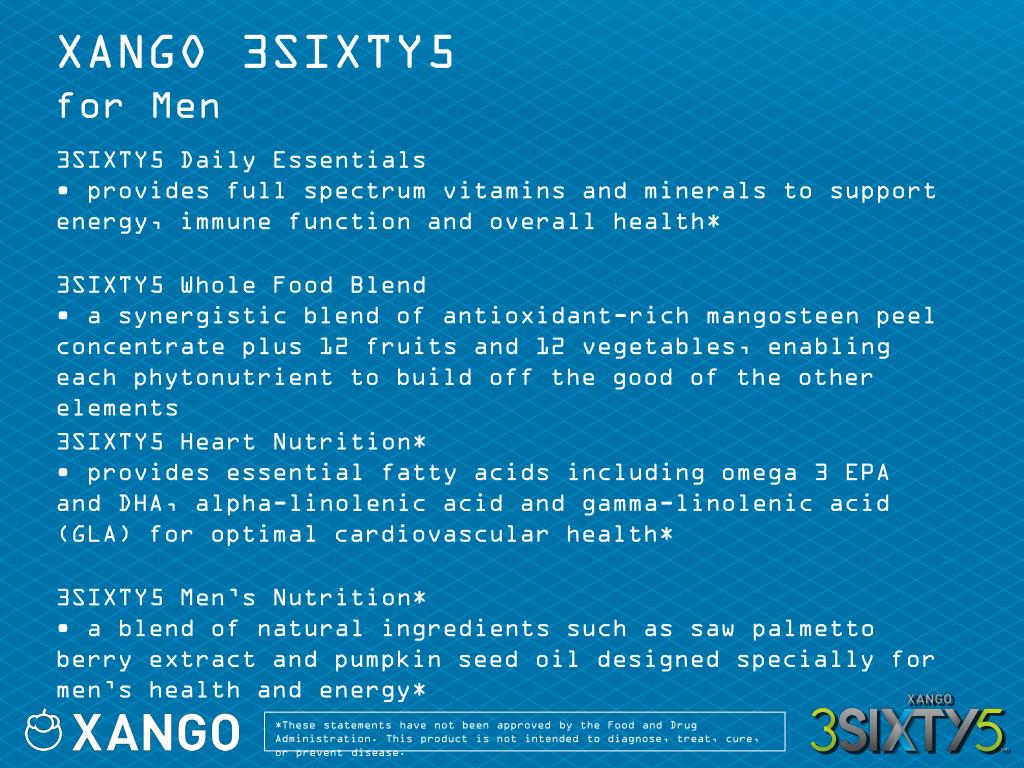 XANGO 3SIXTY5
