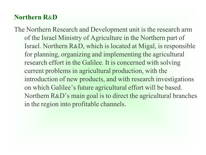 Northern R&D