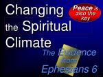 changing the spiritual climate48