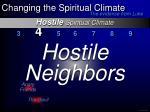hostile spiritual climate10