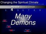 hostile spiritual climate12