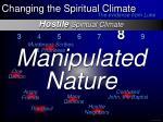 hostile spiritual climate15