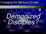 hostile spiritual climate18