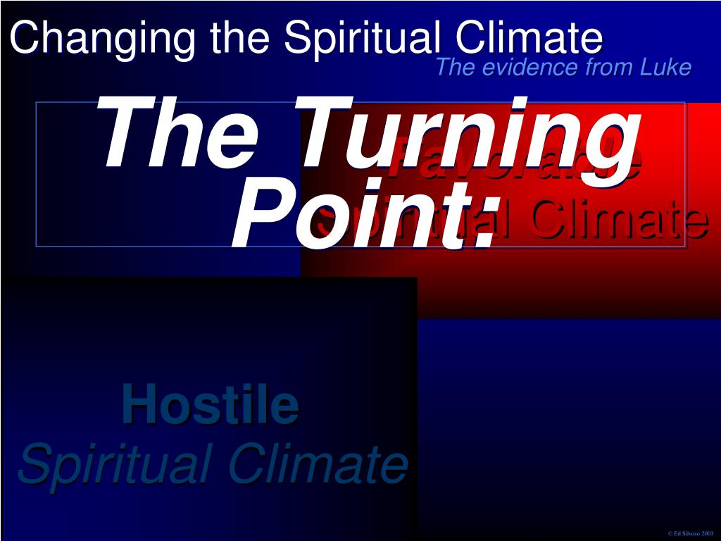 The Turning Point: