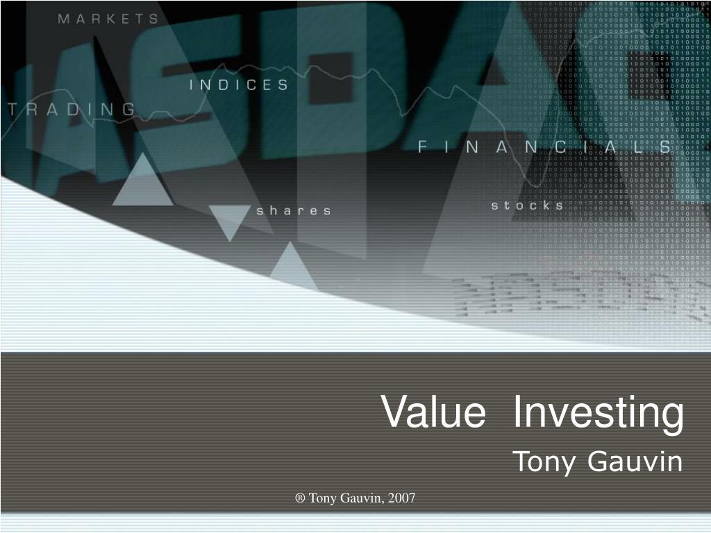 value investing l.