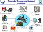computer resources support umbrella