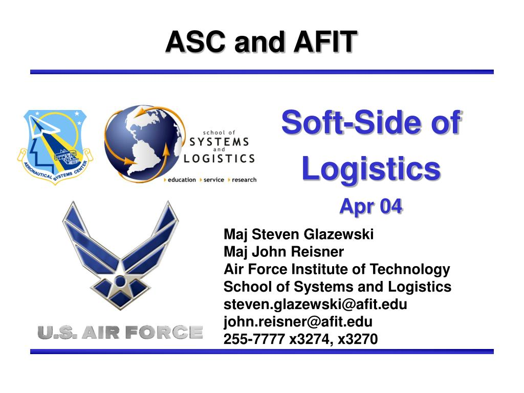 soft side of logistics apr 04 l.