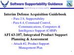 software supportability guidance