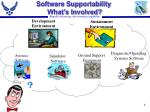 software supportability what s involved