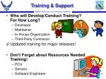 training support26