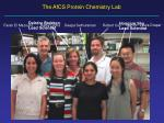 the afcs protein chemistry lab