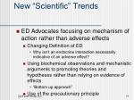 new scientific trends