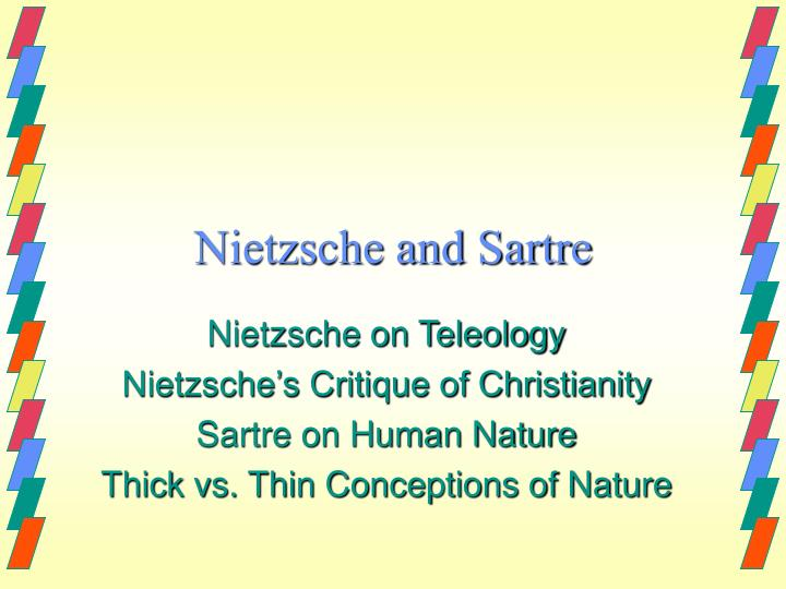 an overview of plato versus nietzsche and the nature of good