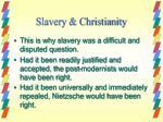 slavery christianity
