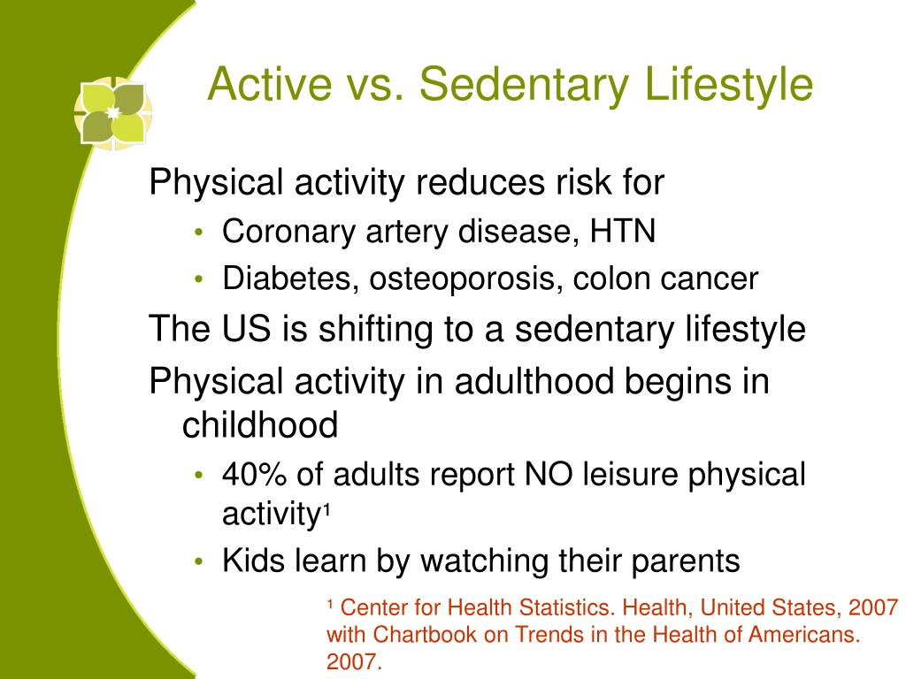 Physical activity reduces risk for