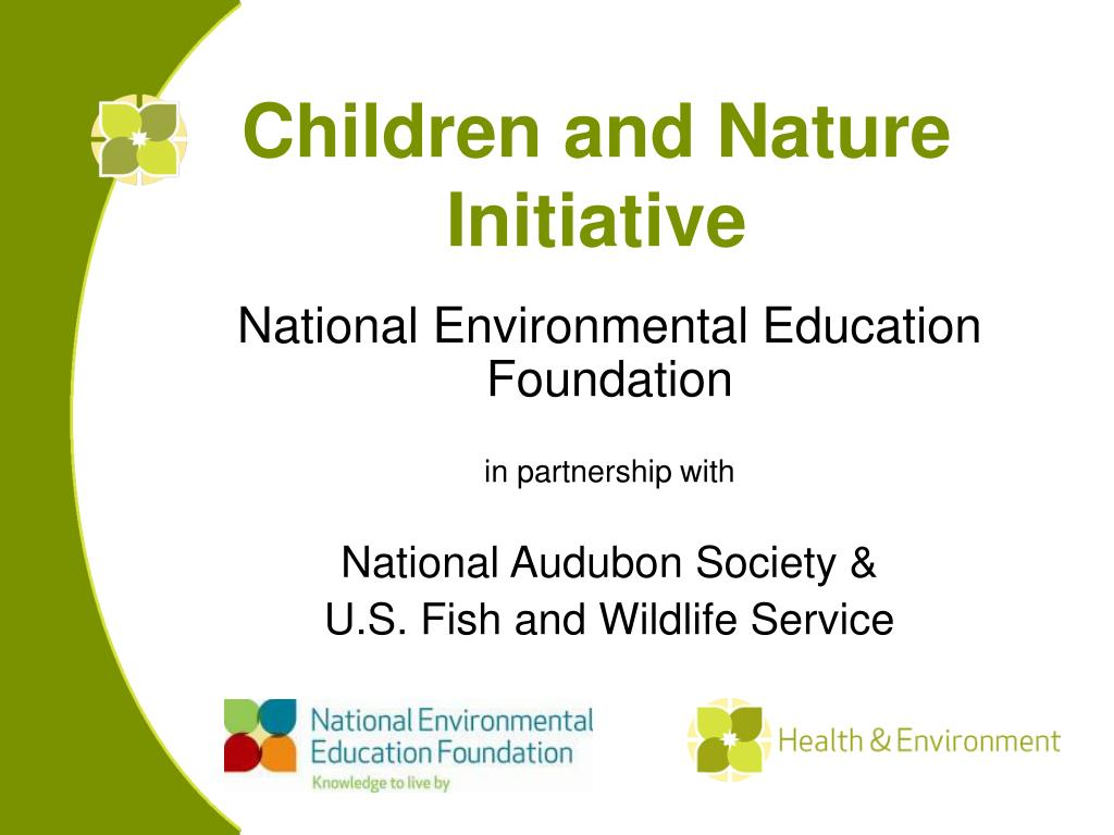 children and nature initiative l.