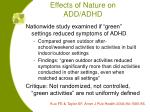 effects of nature on add adhd33