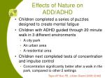effects of nature on add adhd36