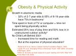 obesity physical activity14