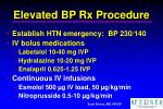 elevated bp rx procedure15