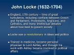john locke 1632 1704