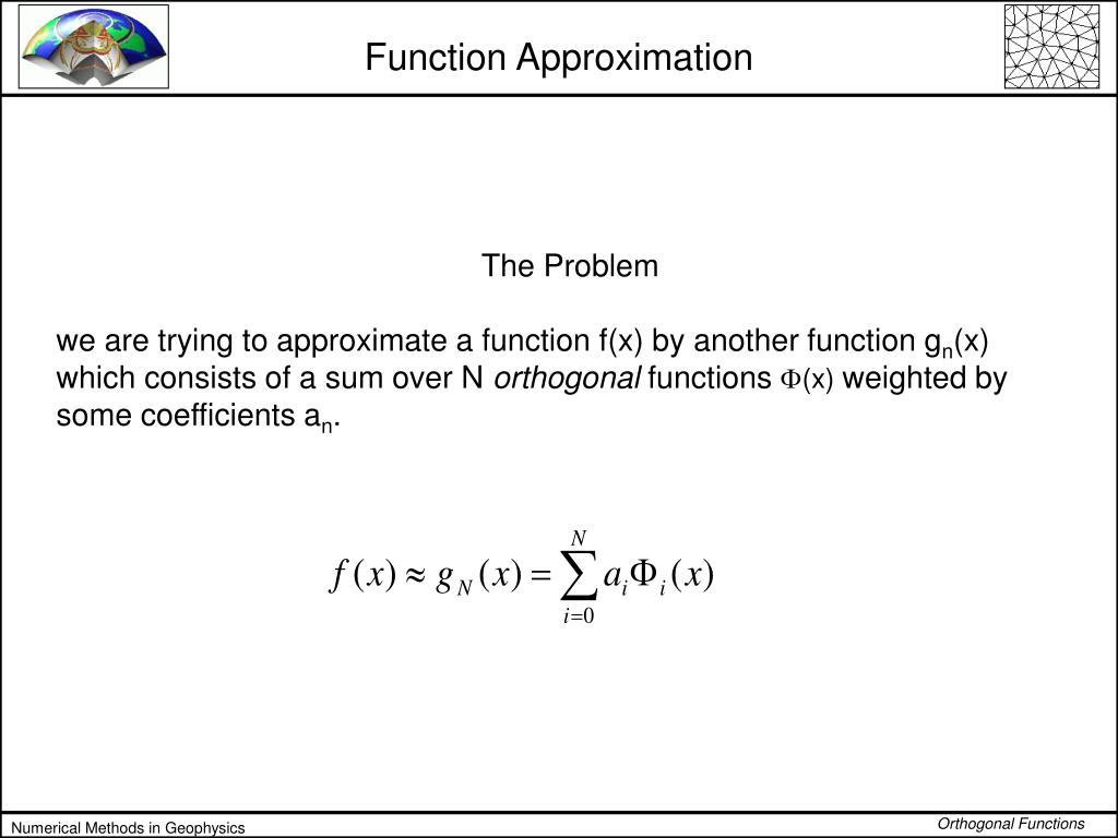 function approximation l.