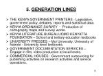 5 generation lines